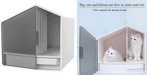 Caseta higiénica para gatos - LF Stores