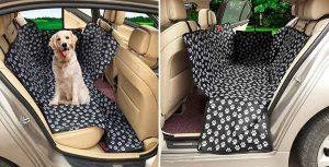 Funda para llevar al perro en el asiento trasero del coche - MATCC