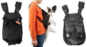 Mochila frontal para perros y gatos - Nicrew