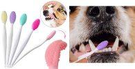 Cepillo de dientes para perros pequeños o con encías sensibles - OneBarleycorn