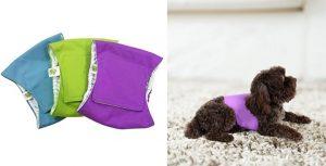 Pañales de tela tipo fajín para perros machos - Pet Magasin