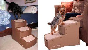 Escalera para ayudar al perro a subir al sofá o cama - Pet Gear Easy Step II & III