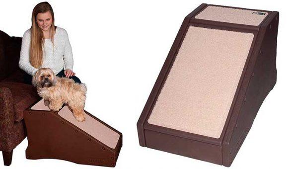 Rampa para ayudar al perro a subir al sofá o cama - Pet Gear Step