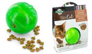 Bola de alimentación y juguete para gatos - Petsafe SlimCat