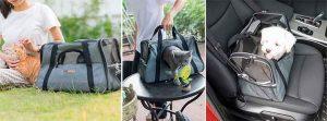 Transportín tipo bolsa para gatos y perros pequeños - PetsHoney
