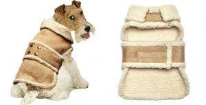 Abrigo de antelina para perros - Pistachio Pet