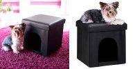 Casa tipo puff para perros y gatos - Relaxdays