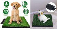Inodoro de césped artificial para perros - Sailnovo