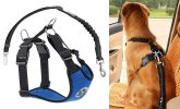 Arnes de coche barato y cinturon de seguridad para perros | SlowTon