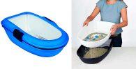 Arenero para gatos con colador - de fácil limpieza - Trixie Berto