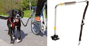 Correa especial para llevar al perro en bicicleta - Trixie Set Bicicleta Deluxe