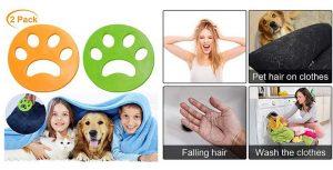 Bolas atrapa pelo de perro y gato para la lavadora - VZATT