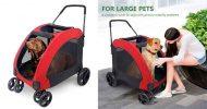 Carrito para perros grandes - Wooce Pet