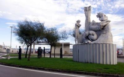 Monumento incendio Santander
