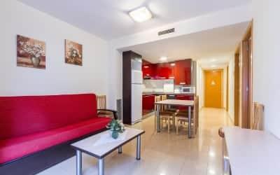 Neptuno apartamento que admite mascotas en Calella